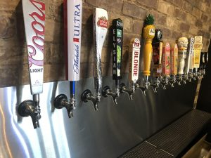 Pie Nation Beer Taps Local Craft Beer