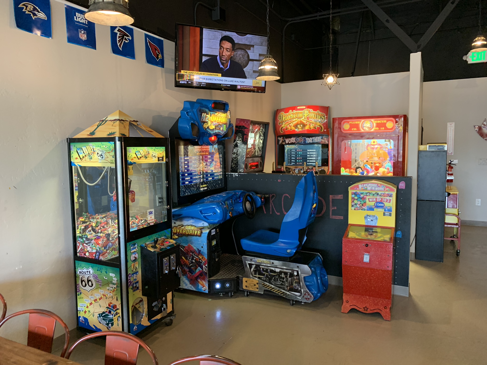 Arcade for the kids - Pie Nation Pizza