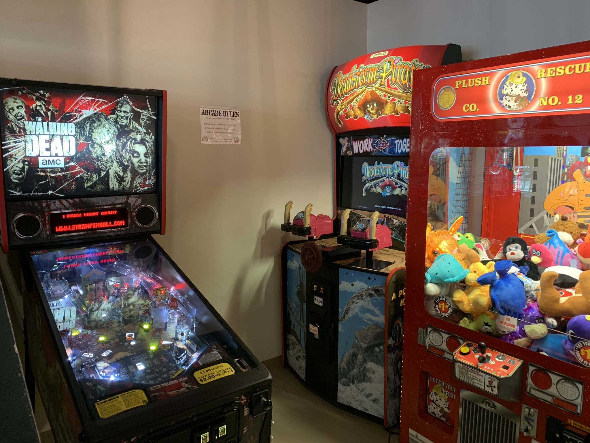 Arcades for the kids - Pie Nation Pizza